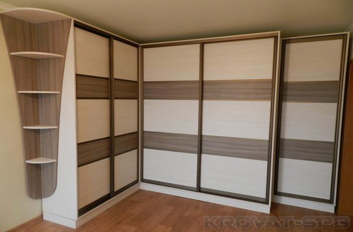 шкаф купе на заказ угловой шкаф купе тройной в спальню